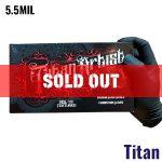Sold Out – Titan Artist Black Nitrile Gloves – 5.5MIL – 100 Per Box